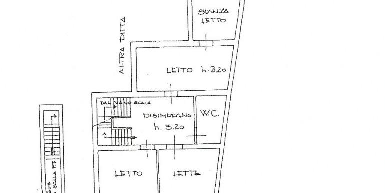 Planimetria 1° piano
