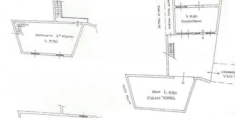 Planimetria p.t. e depositi